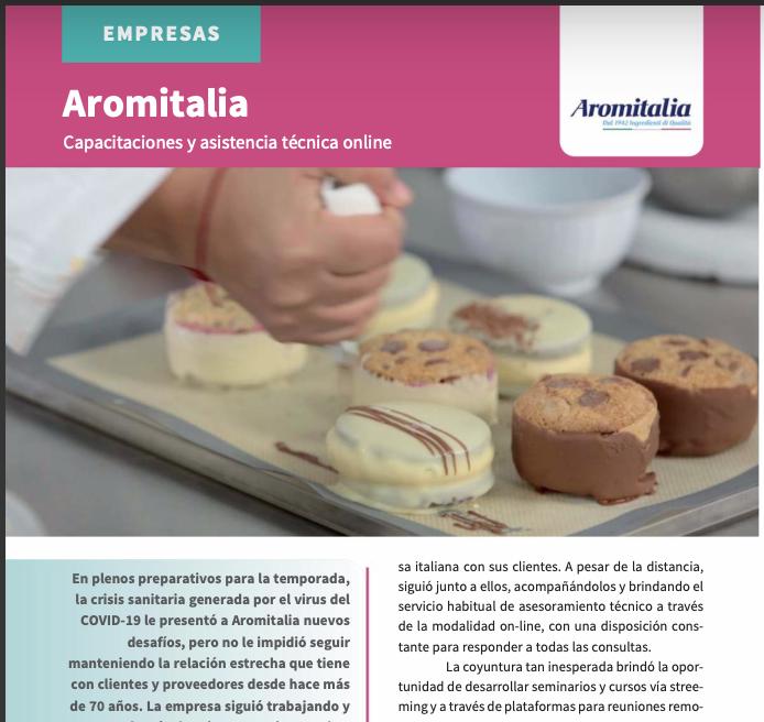 Nota Aromitalia | Revista heladería y panadería
