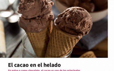 El cacao en el Helado